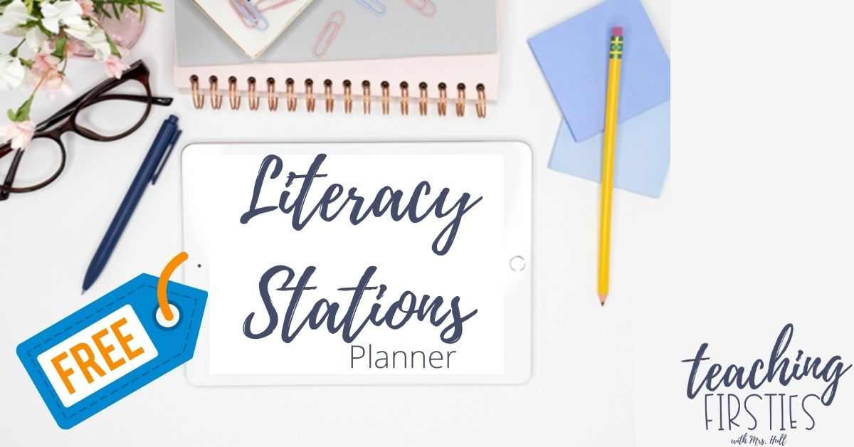 literacy stations planner