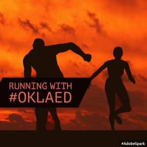 Running with #Oklaed