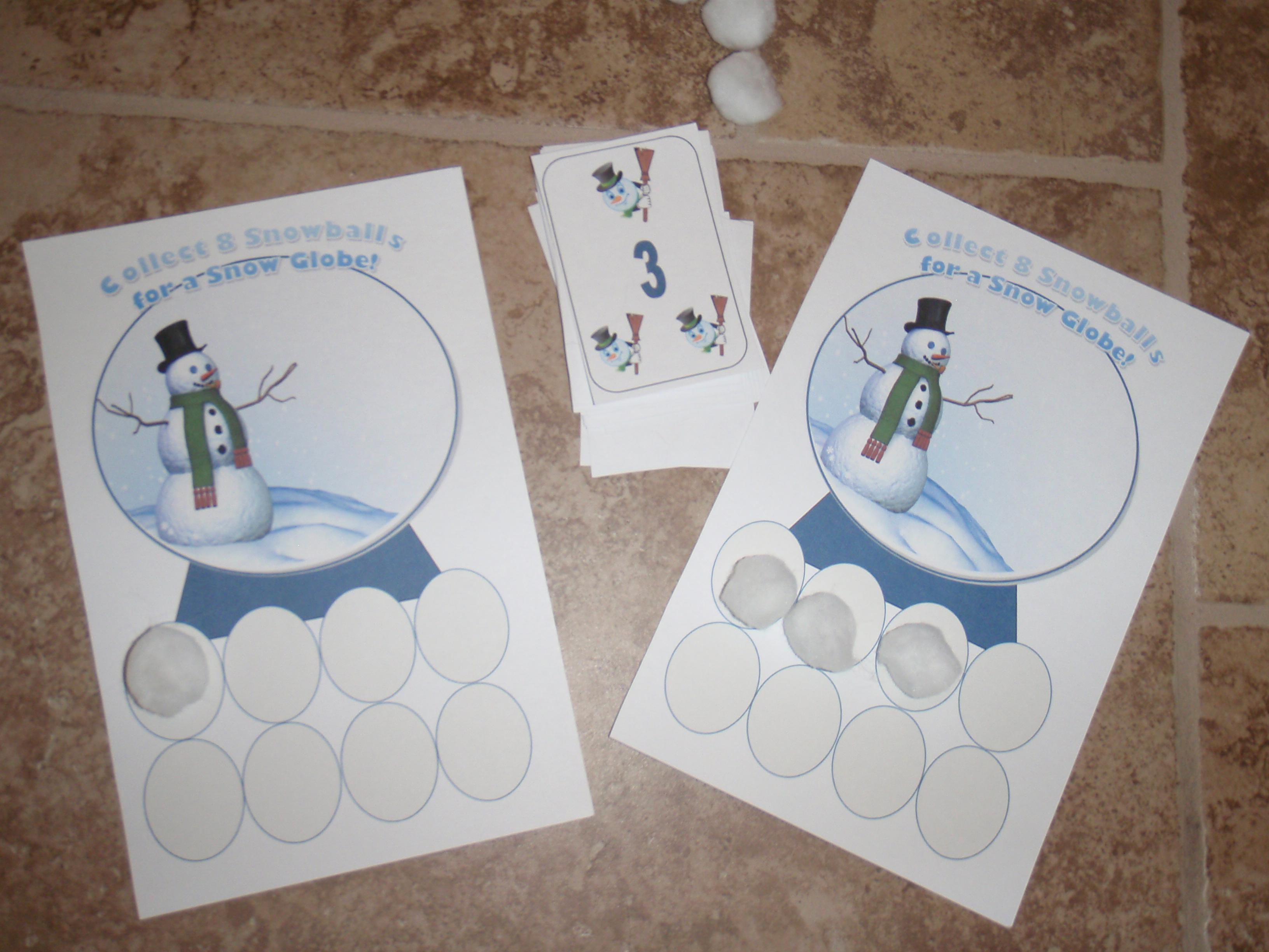 Snow Globe Game Teaching Heart Blog