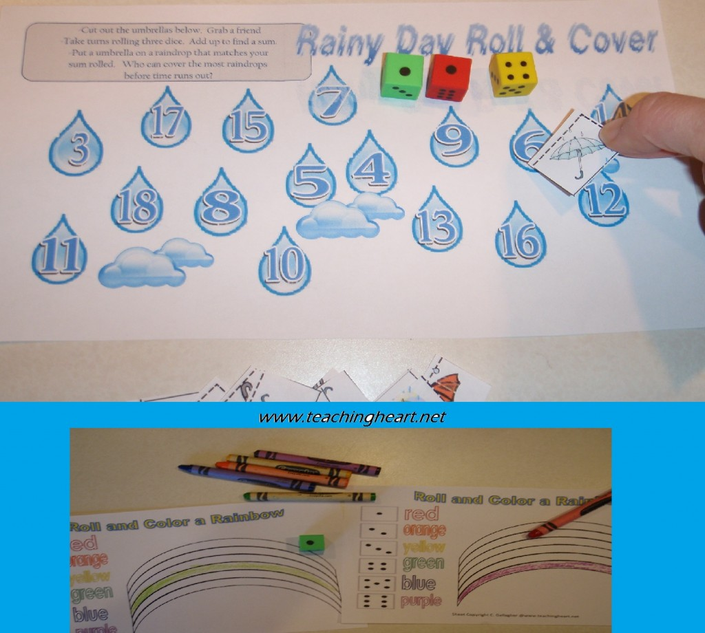 Three Free Rainy Day Printables Teaching Heart Blog