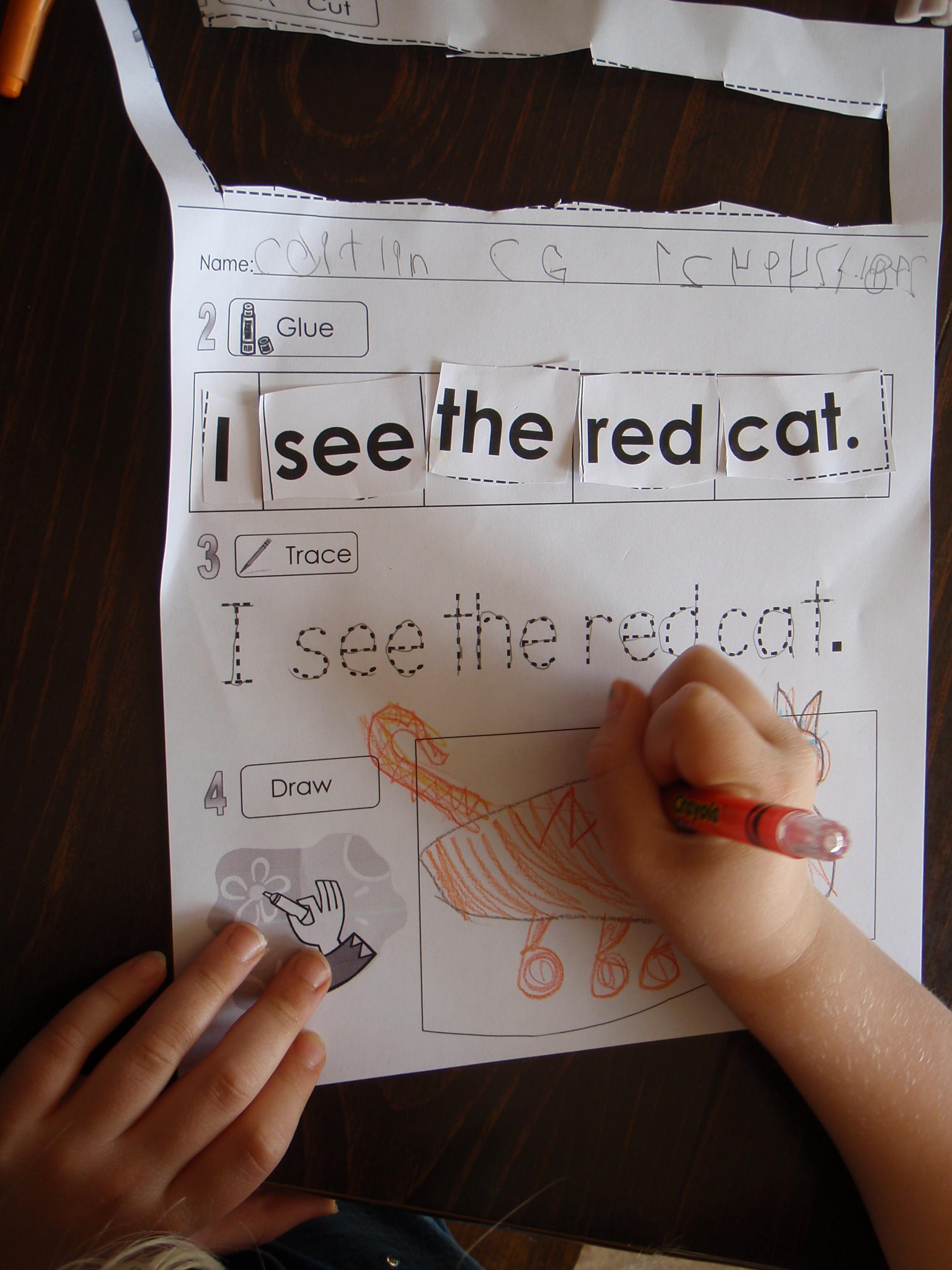 Sight Word Free Extra Practice Activities