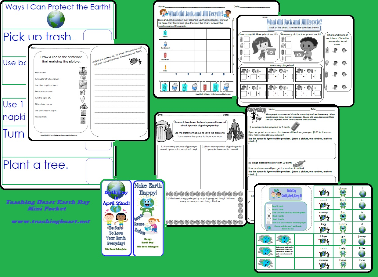Earth Day Free Printable Teaching Heart Blog
