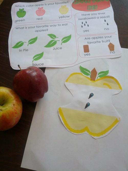 small resolution of Apple Unit Theme - apple printables