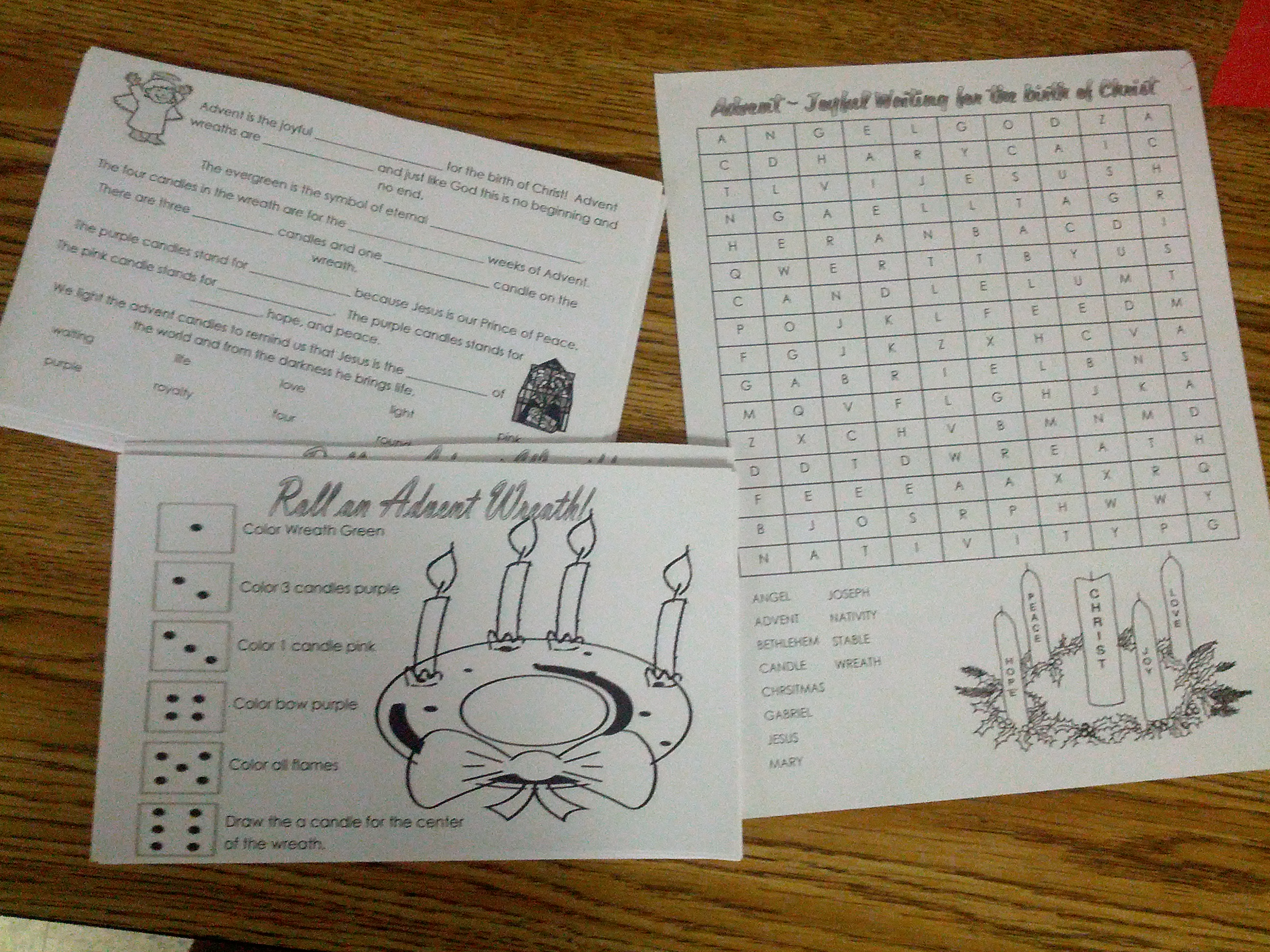Advent Printables Roll A Wreath And Jesus Candy Cane Teaching Heart Blog