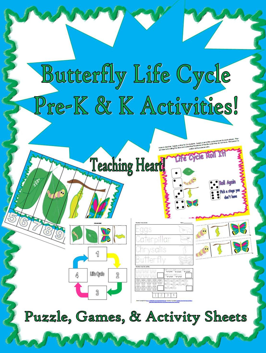 The Very Hungry Caterpillar Unit K 3 Lessons Links