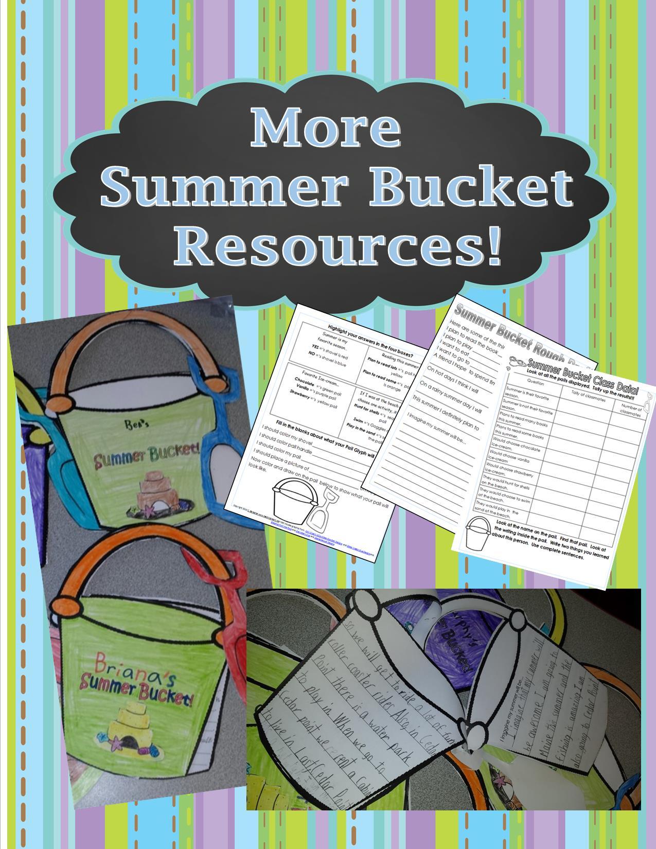 Summer Buckets Teaching Heart Blog