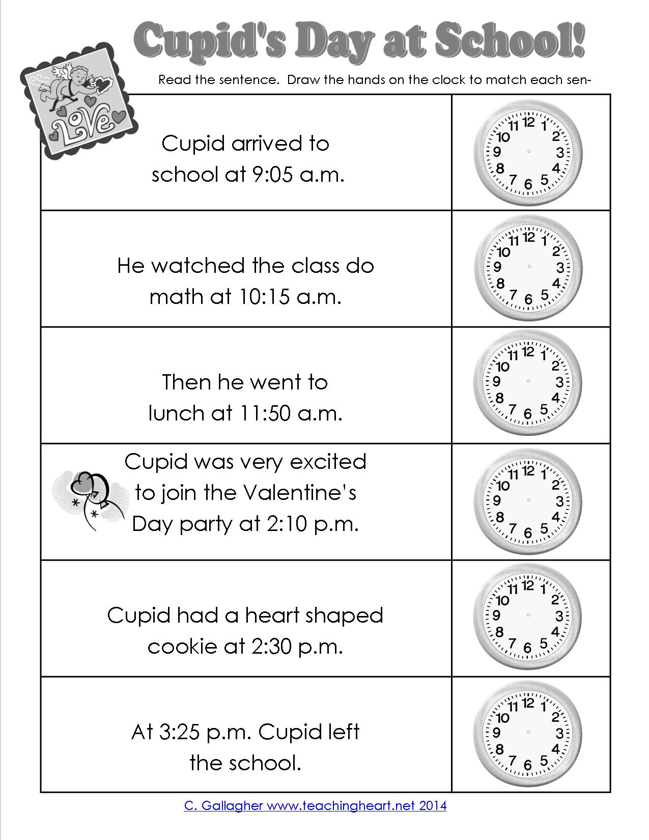 Cupid Tells Time Too
