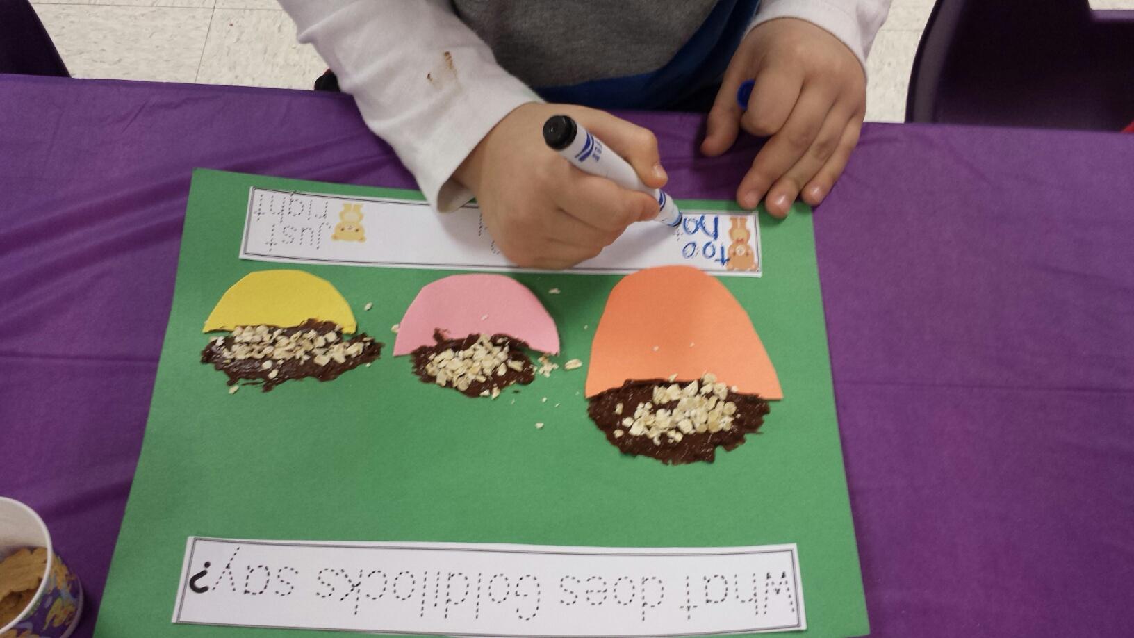 Goldilocks And The Three Bears Activities Kindergarten