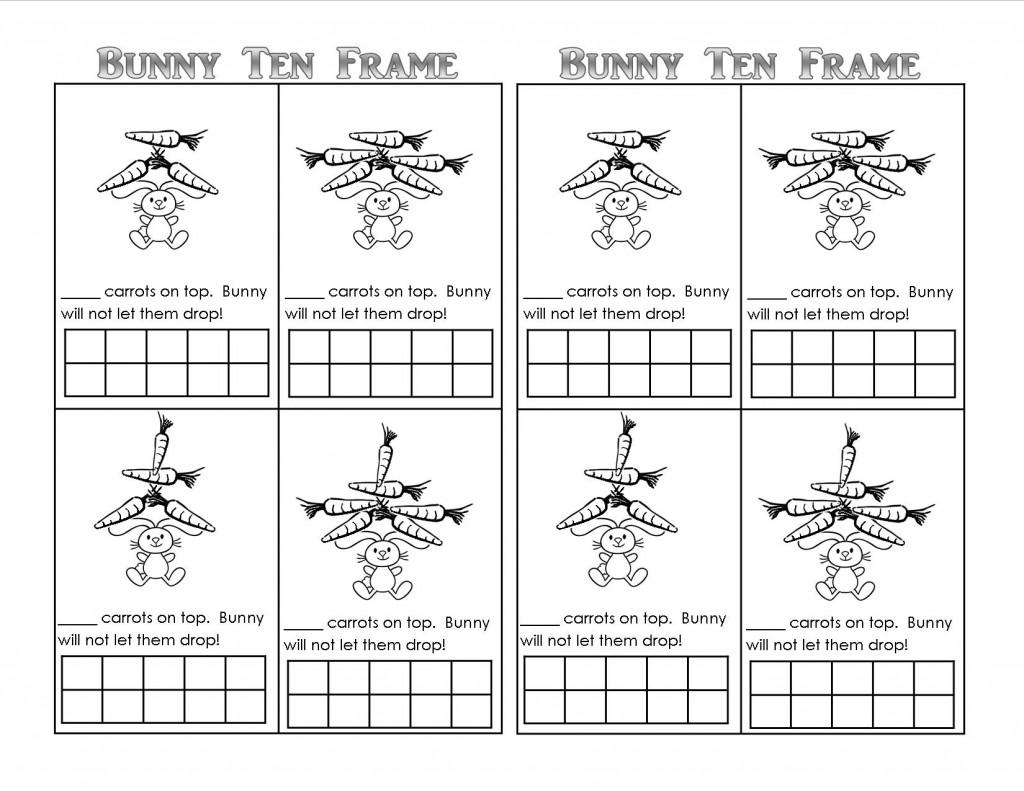 Easter Bunny Theme Unit