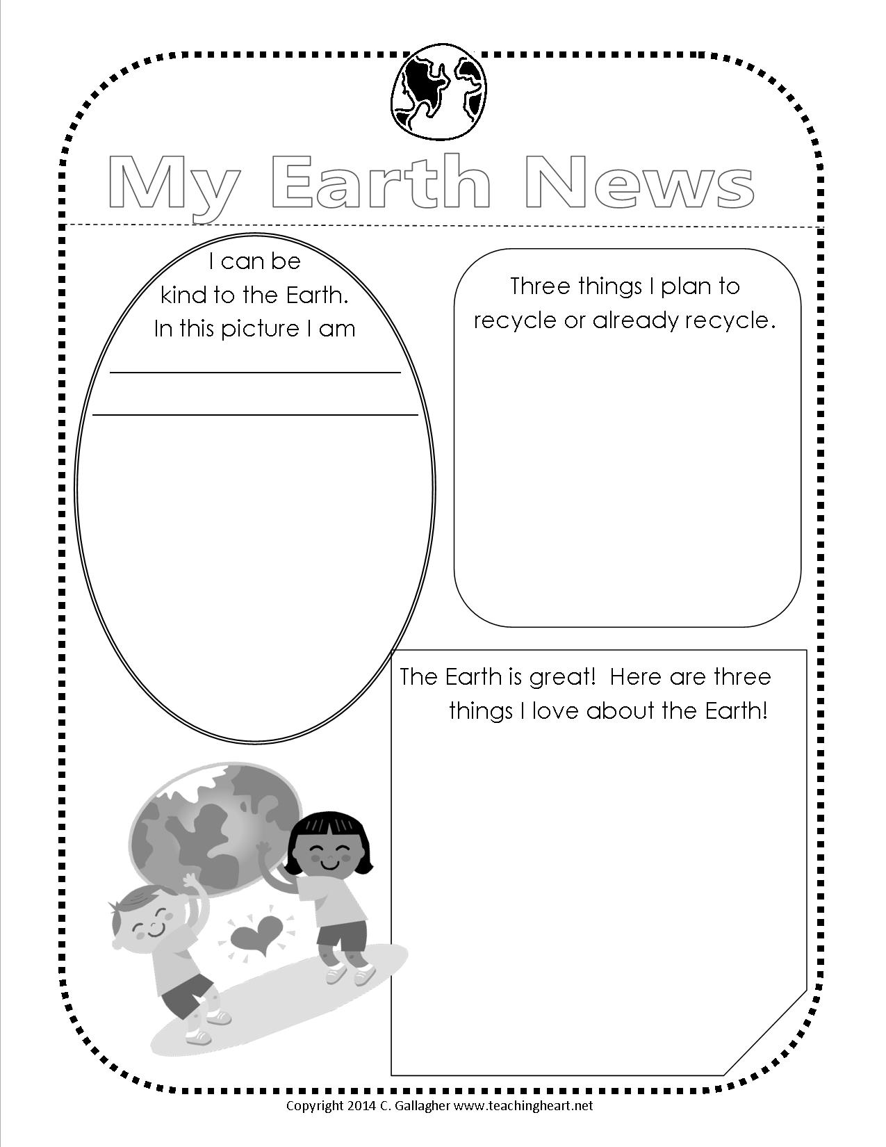 Earth Day Free Printable