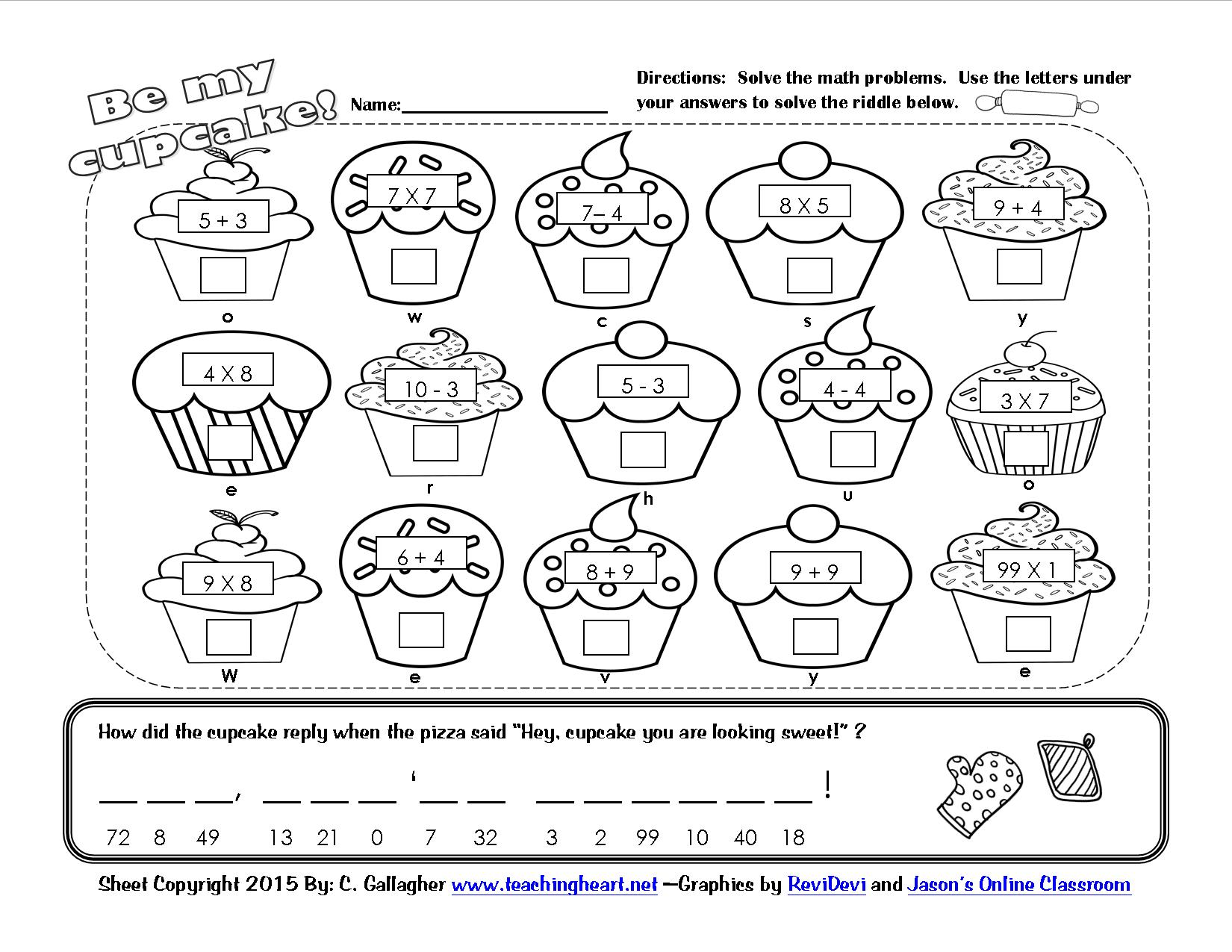 A Cupcake For You Amp 100th Day Fun Teaching Heart Blog