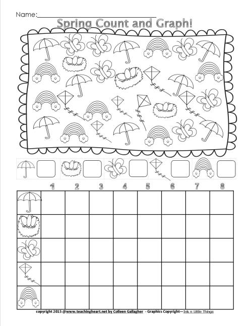 small resolution of Spring Count and Graph – Free – Teaching Heart Blog