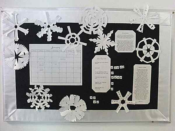 Snowflake Bulletin Board Ideas