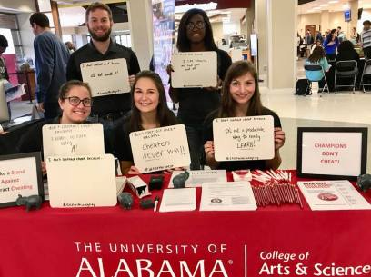 A&S AHC Honor Council at the 2017 Whiteboard Event