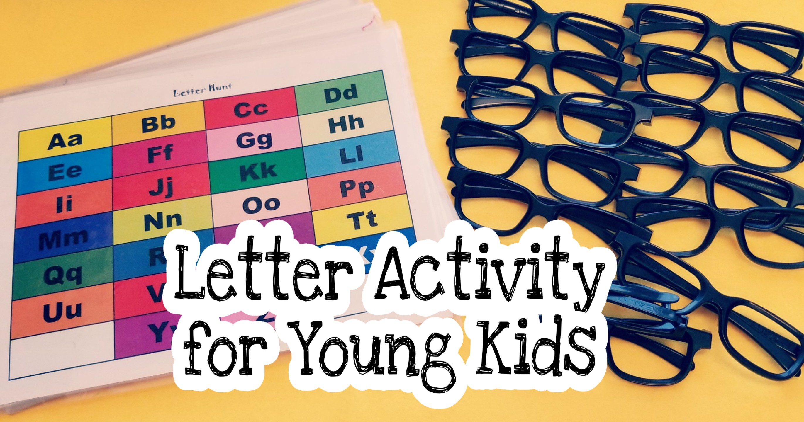 Alphabet Hunt Letter Games