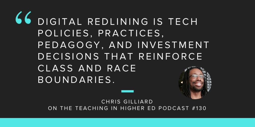 Digital redlining and privacy