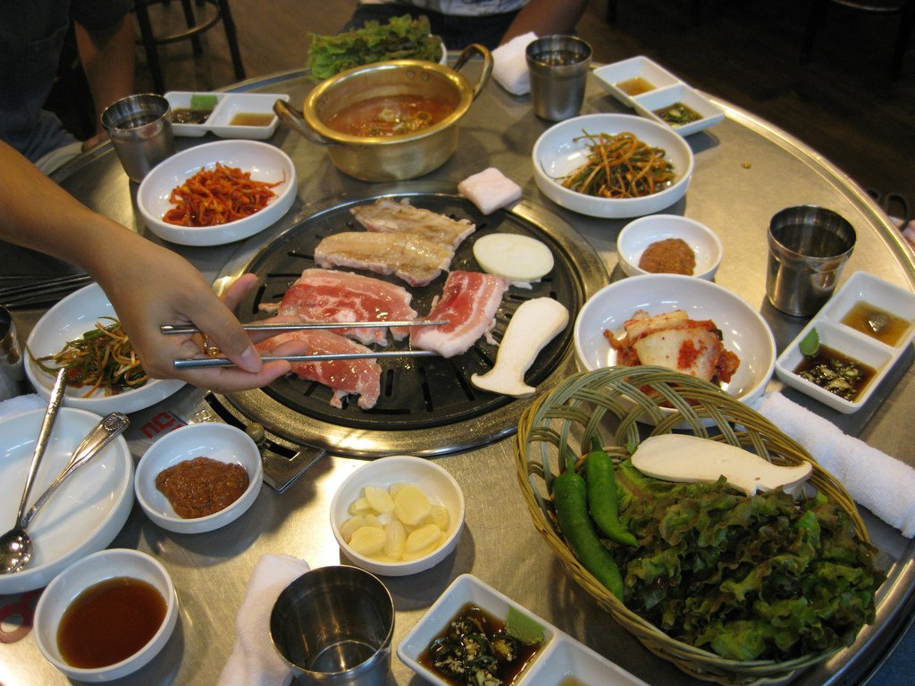 ESL Food Unit Plan, for Korean Students
