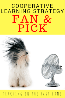 Fan and Pick: A Cooperative Learning Strategy