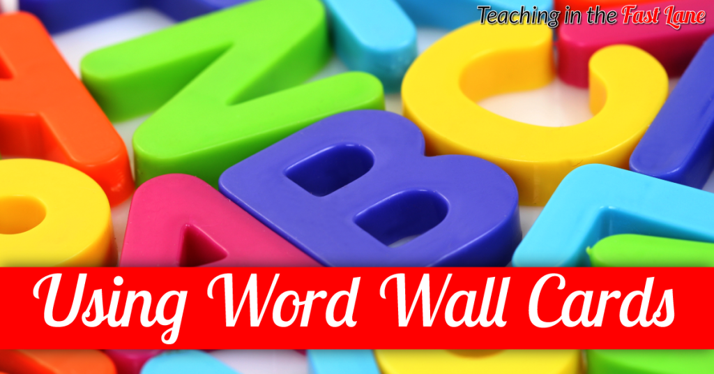 3 Unique Ways to Use Word Wall Cards in the Classroom