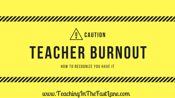 Teacher burnout. Those words strike fear into the souls of teachers the world over. The truth is though if you aren't taking care of yourself teacher burnout is coming for you. There is no way around it. As teachers, we give of ourselves freely. This can become a problem when we forget wecan't only give to others.