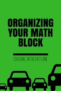 Organizing your math block can feel like an uphill battle, but it doesn't have to. By implementing the essential 5 elements in each and every math block you will be more organized and ready to tackle your next classroom challenge!