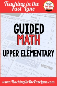Check out the organization of a guided math schedule including guided math rotations and stations and what to do with your groups. #guidedmath4th #guidedmathgroups #guidedmathrotations