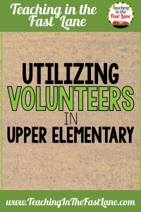 Is the idea of having classroom volunteers in your upper elementary overwhelming to you? Fear not! Having families volunteer in your classroom is a great way to build community and help your students excel!