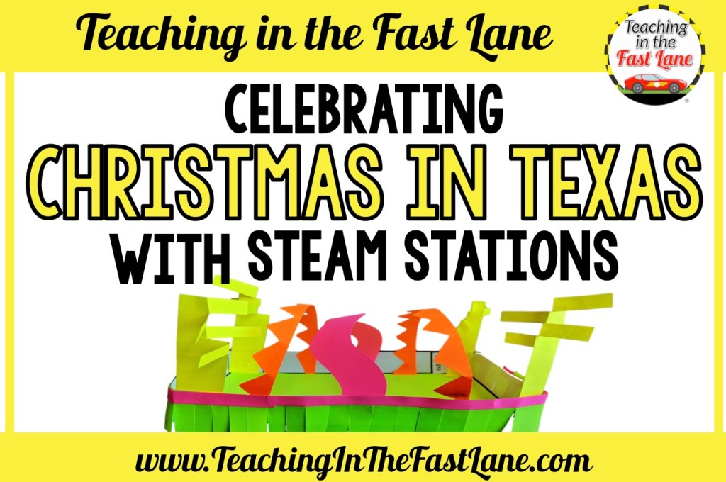 Are you looking for a way to explore different ways Christmas is celebrated around Texas? Check out how to use STEAM stations to engage your students in learning about the season in the Lone Star State.