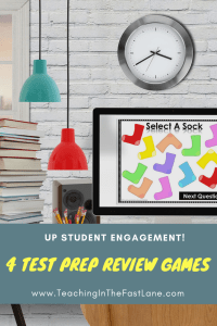 Are you looking for a way to spice up your test prep review games? Check out this blog post with 4 unique and engaging review strategies that will excite your students while requiring minimal prep from you!