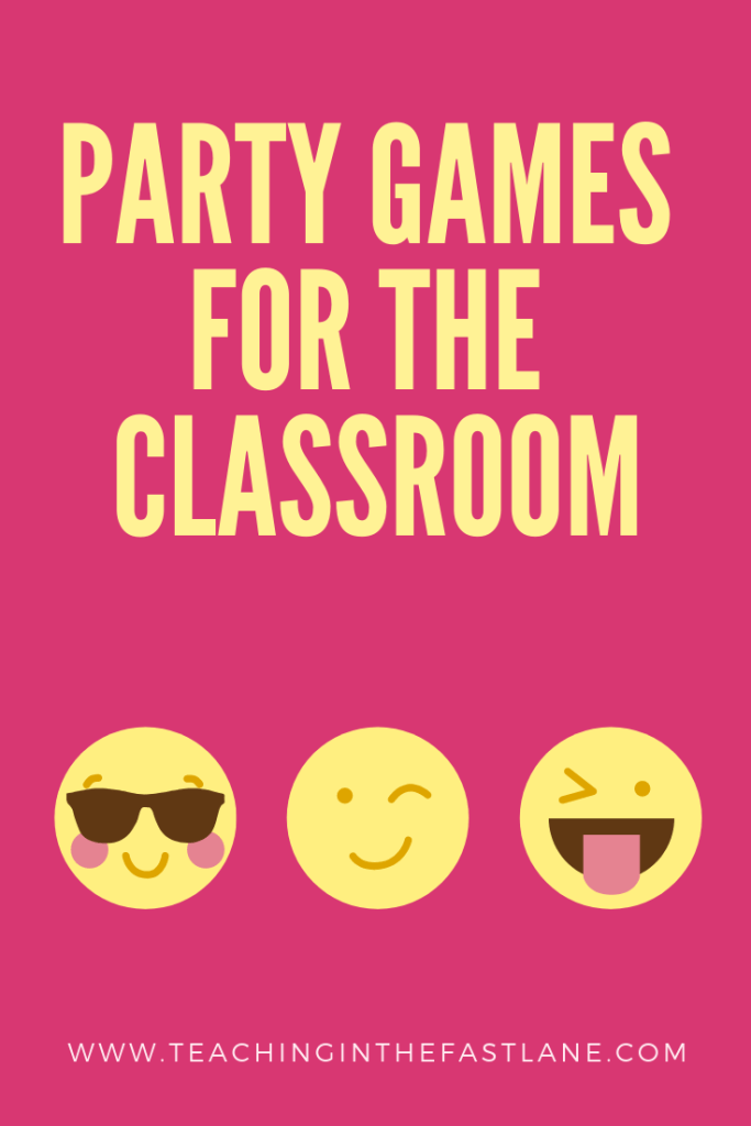 Are you getting ready for a classroom party? Check out this post with 5 games for classroom parties that both teachers and students will love!