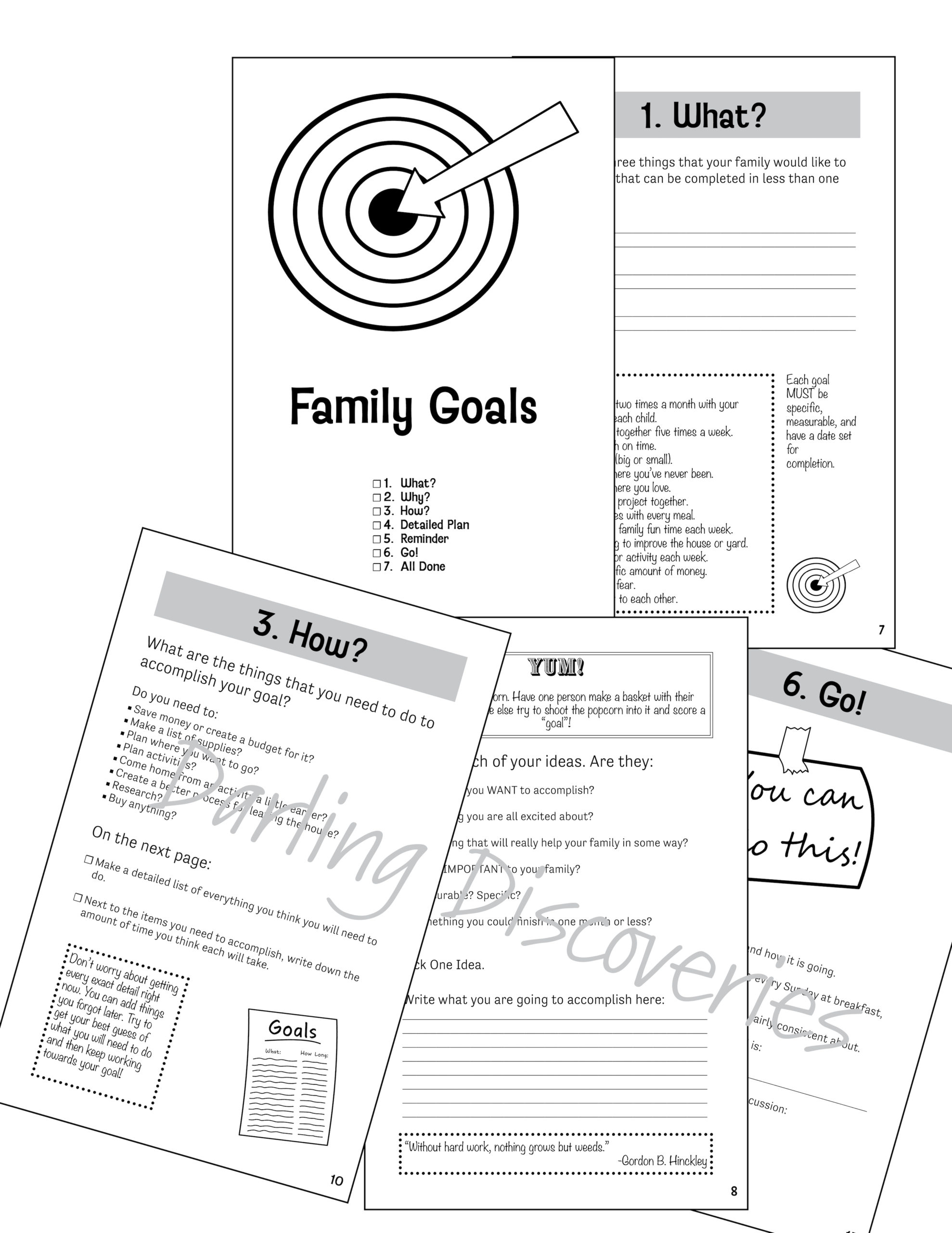 Setting A Goal As A Family