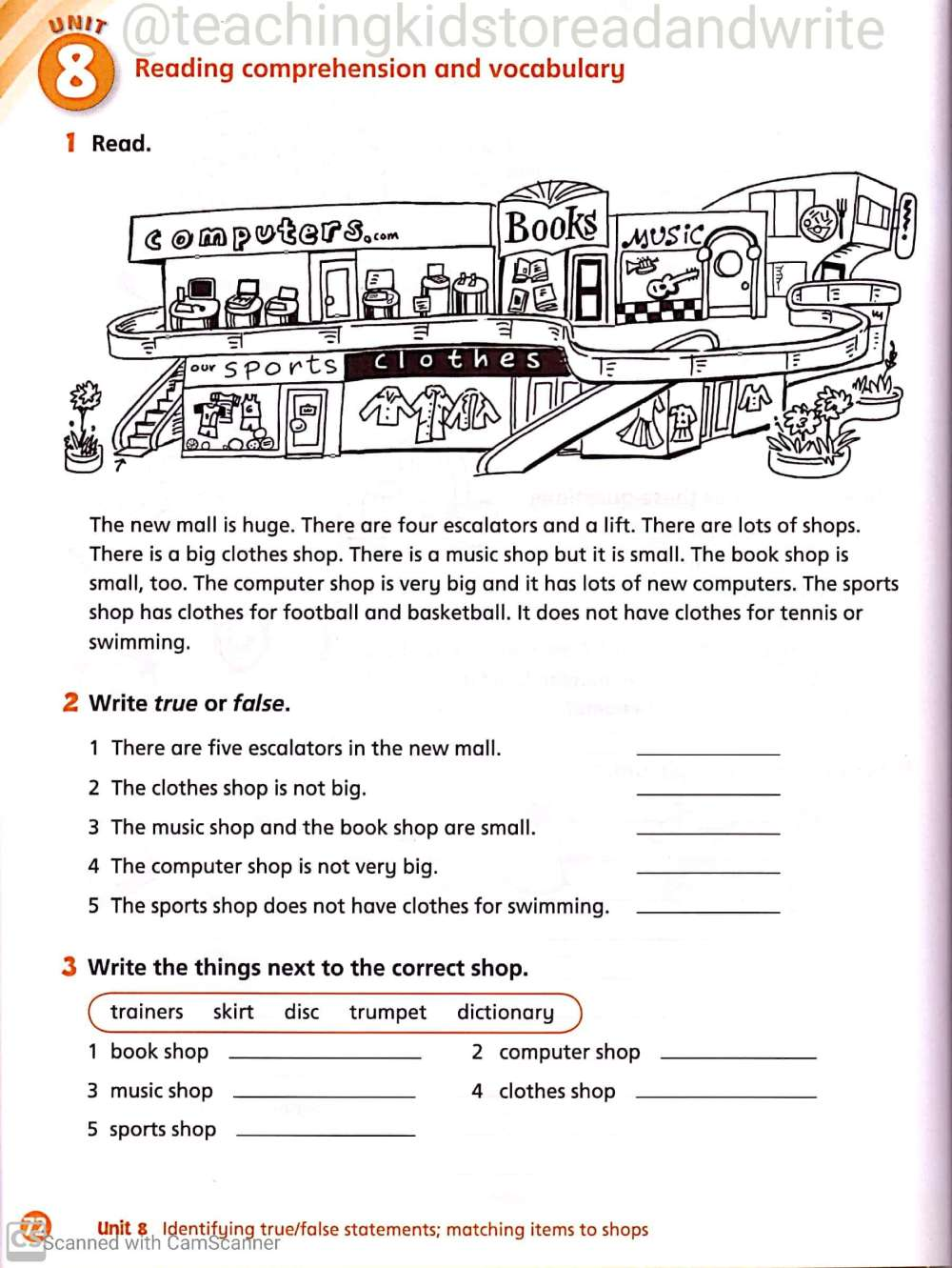 medium resolution of English Worksheets for Grade 3 – Teaching Kids to Read and Write