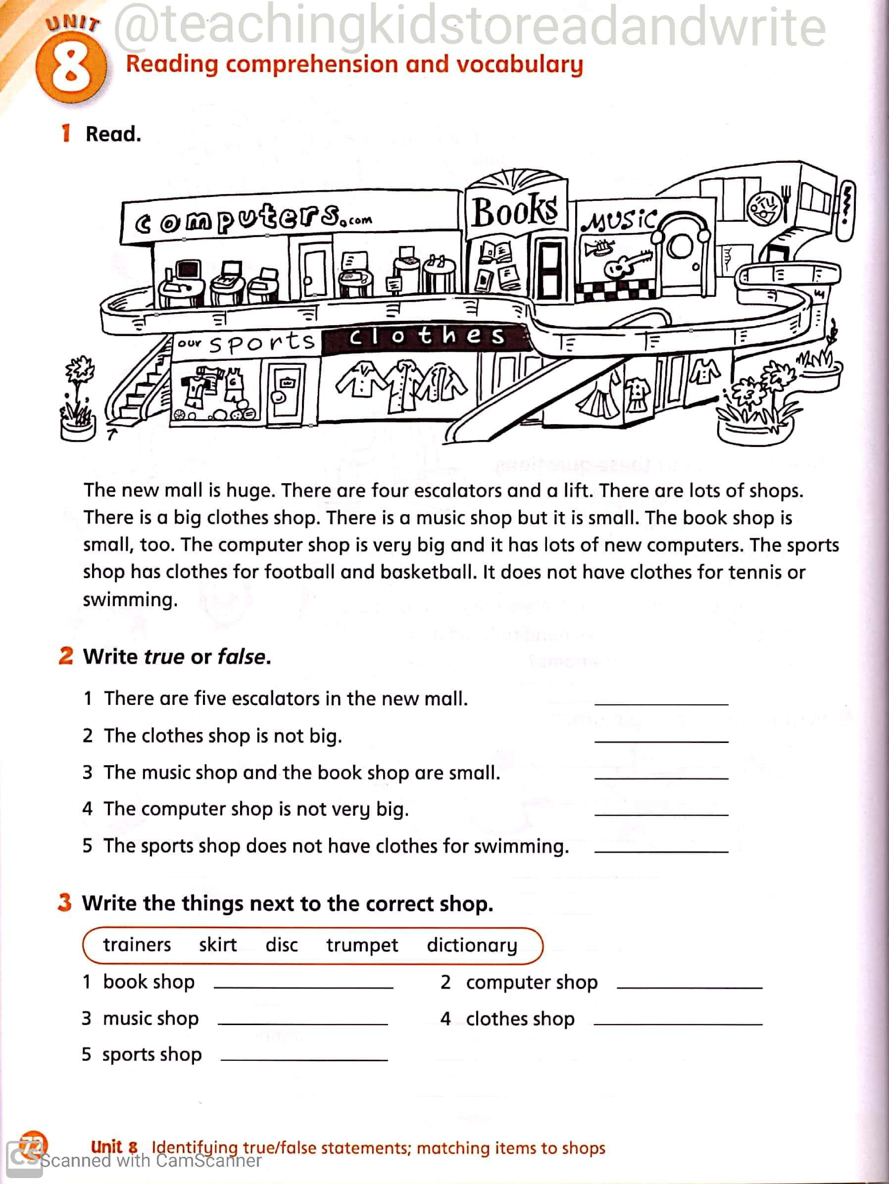 hight resolution of English Worksheets for Grade 3 – Teaching Kids to Read and Write