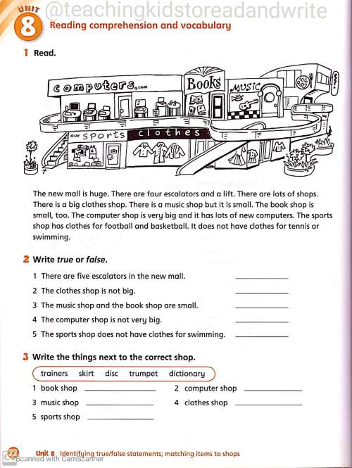 small resolution of English Worksheets for Grade 3 – Teaching Kids to Read and Write