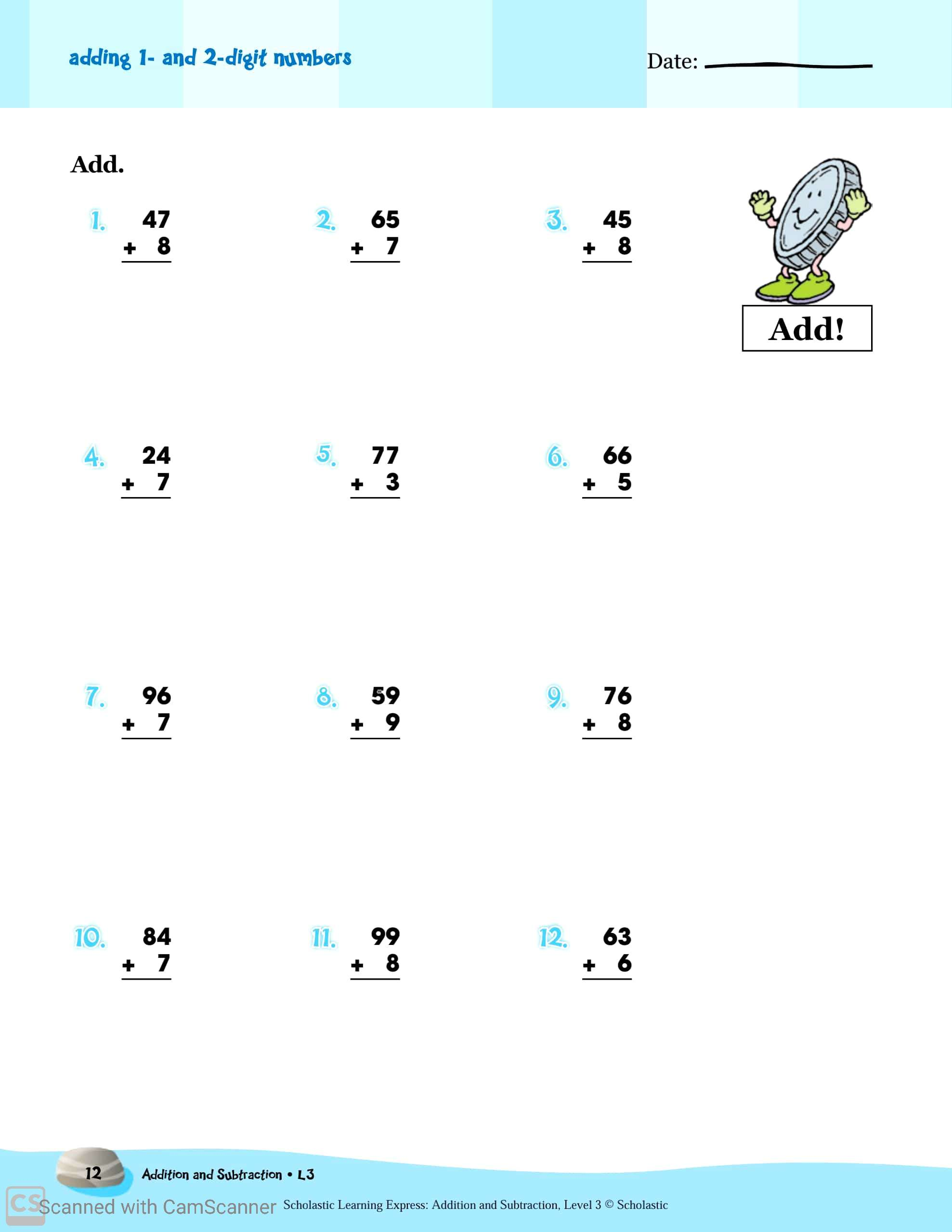 hight resolution of 2st Grade Subtraction Worksheets   Printable Worksheets and Activities for  Teachers
