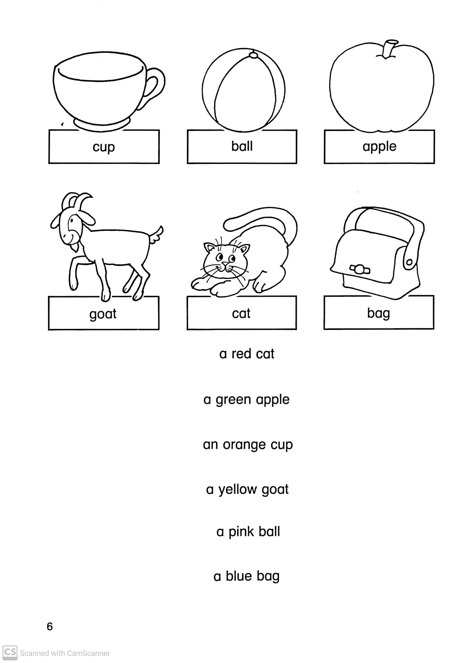 English worksheets for Grade 2