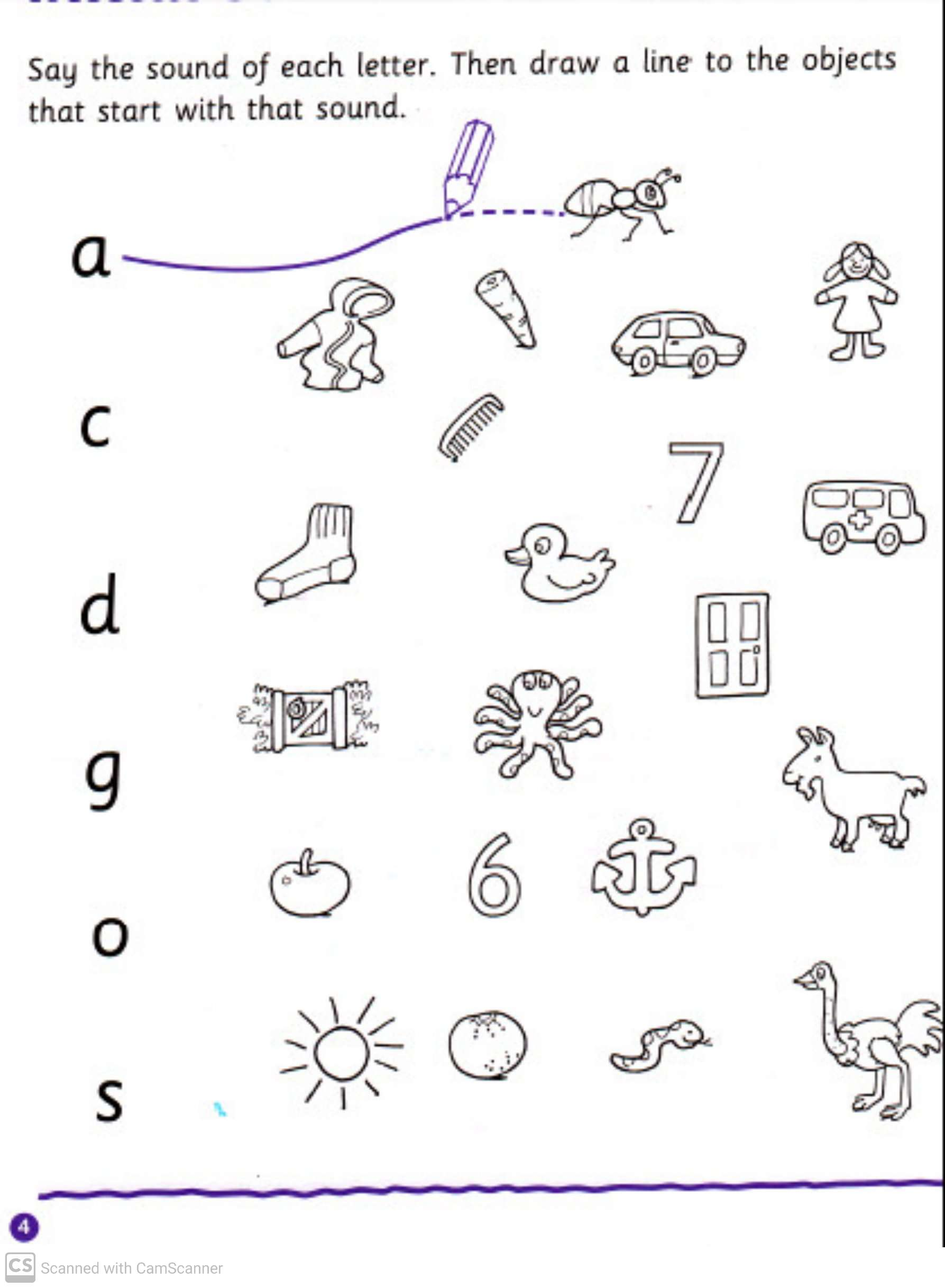 Reading And Writing Practice Worksheets For Kindergarten