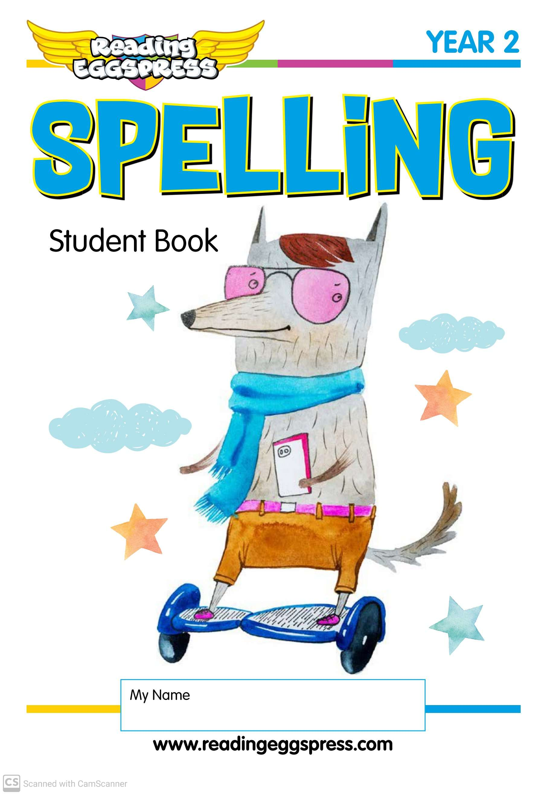 English Spelling Worksheets Book 2