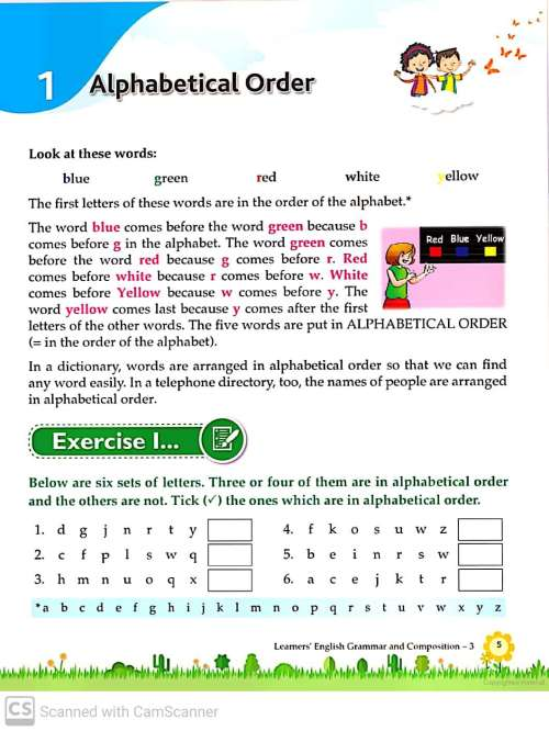 small resolution of Grammar and Composition Worksheets for Grade 3 – Teaching Kids to Read and  Write