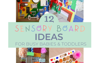12 Sensory Board DIY Ideas for Busy Babies and Toddlers