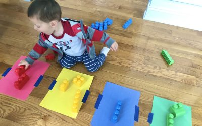 Sorting and Matching Colors for Toddlers