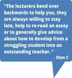 Teaching London lecturers give advice on how to become an outstanding teacher.