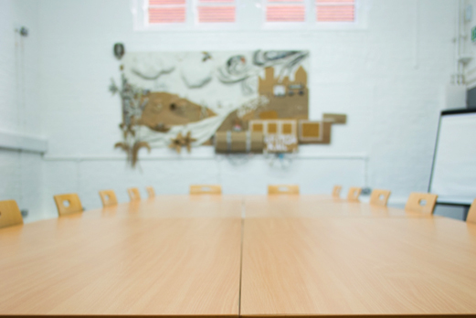 Central London Venue for Hire board room set up