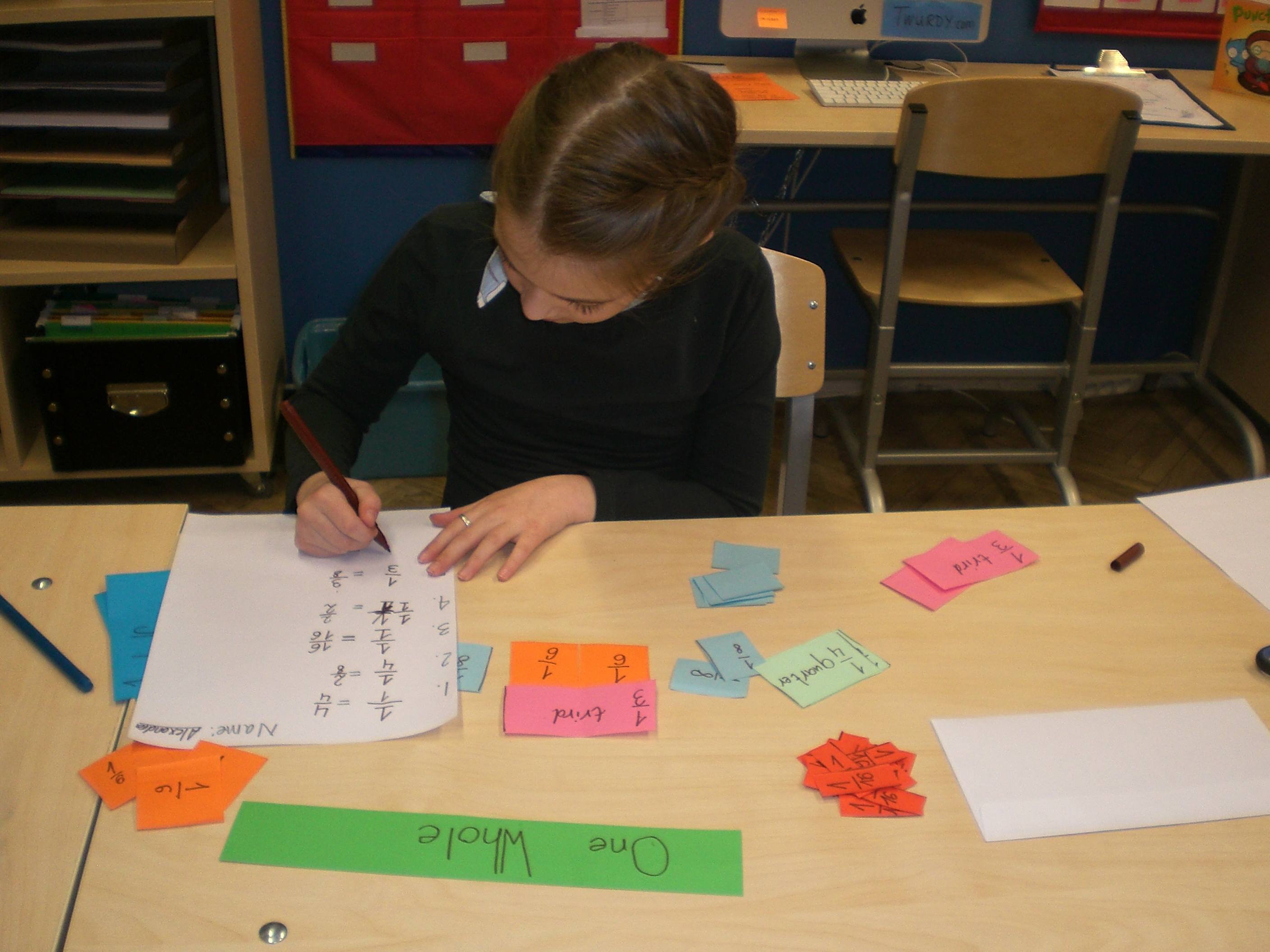 Teaching With Fraction Strips