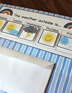 Weather graph includes free printables also diy preschool board with teaching mama rh teachingmama