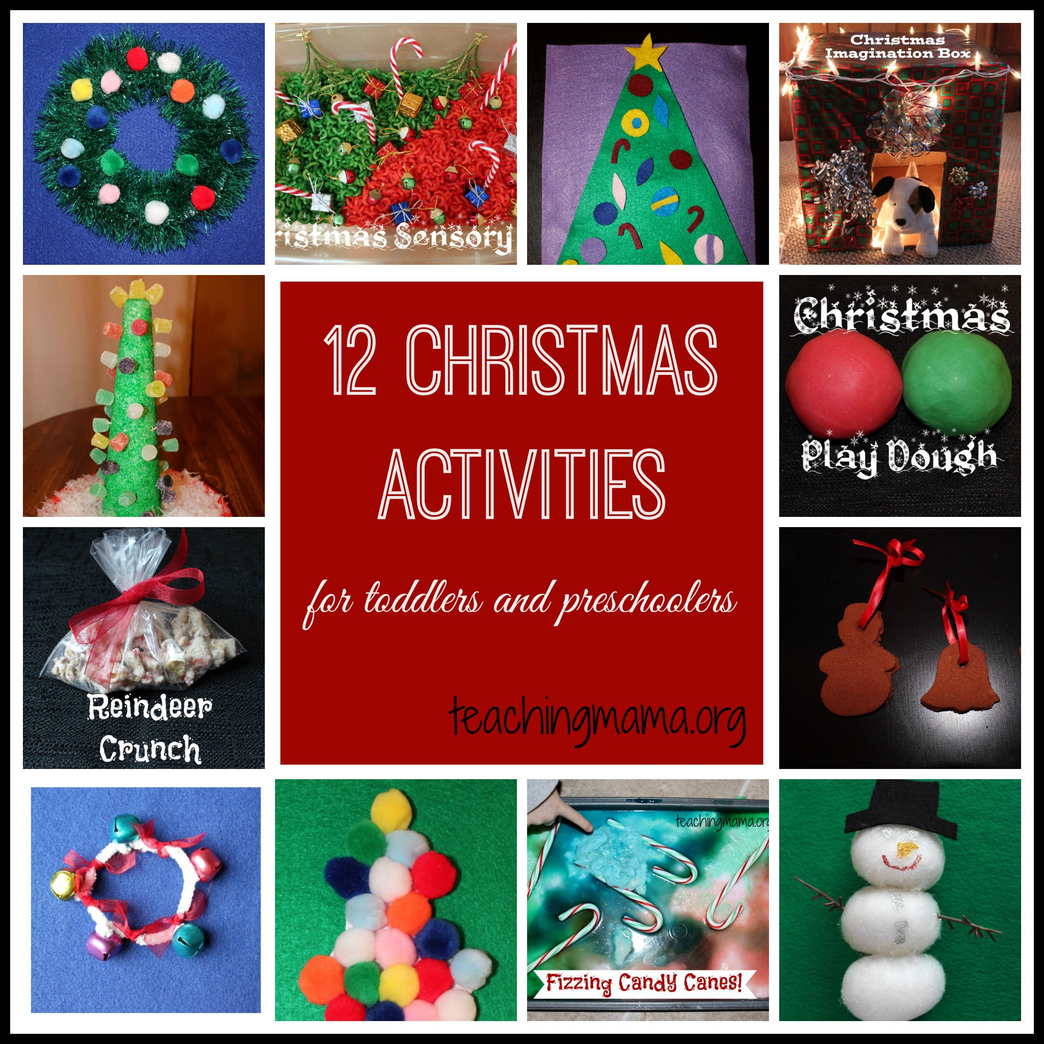 Christmas Activities For Toddlers And Preschoolers