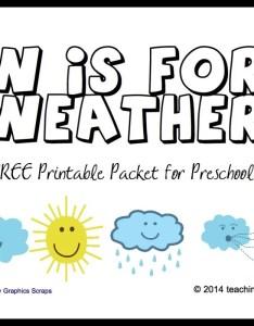 Preschool weather activity pack printables also free printable activities for kids true aim rh trueaimeducation