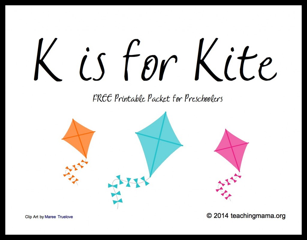 K Is For Kite Letter K Printables