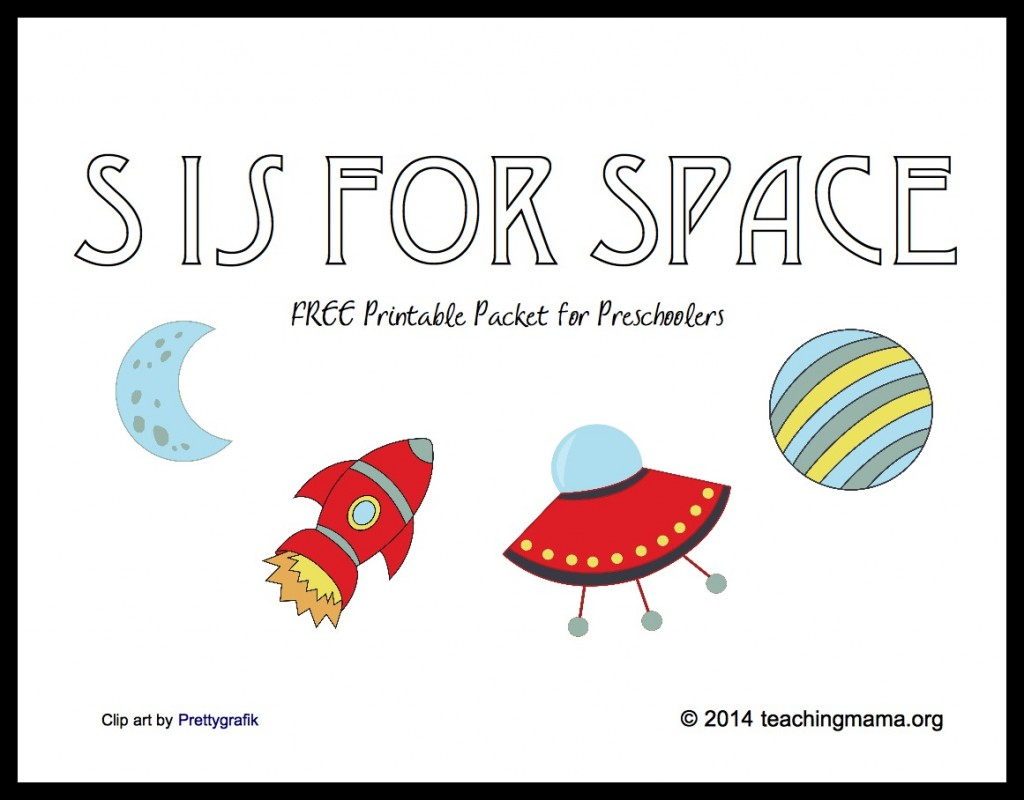 S Is For Space Letter S Printables