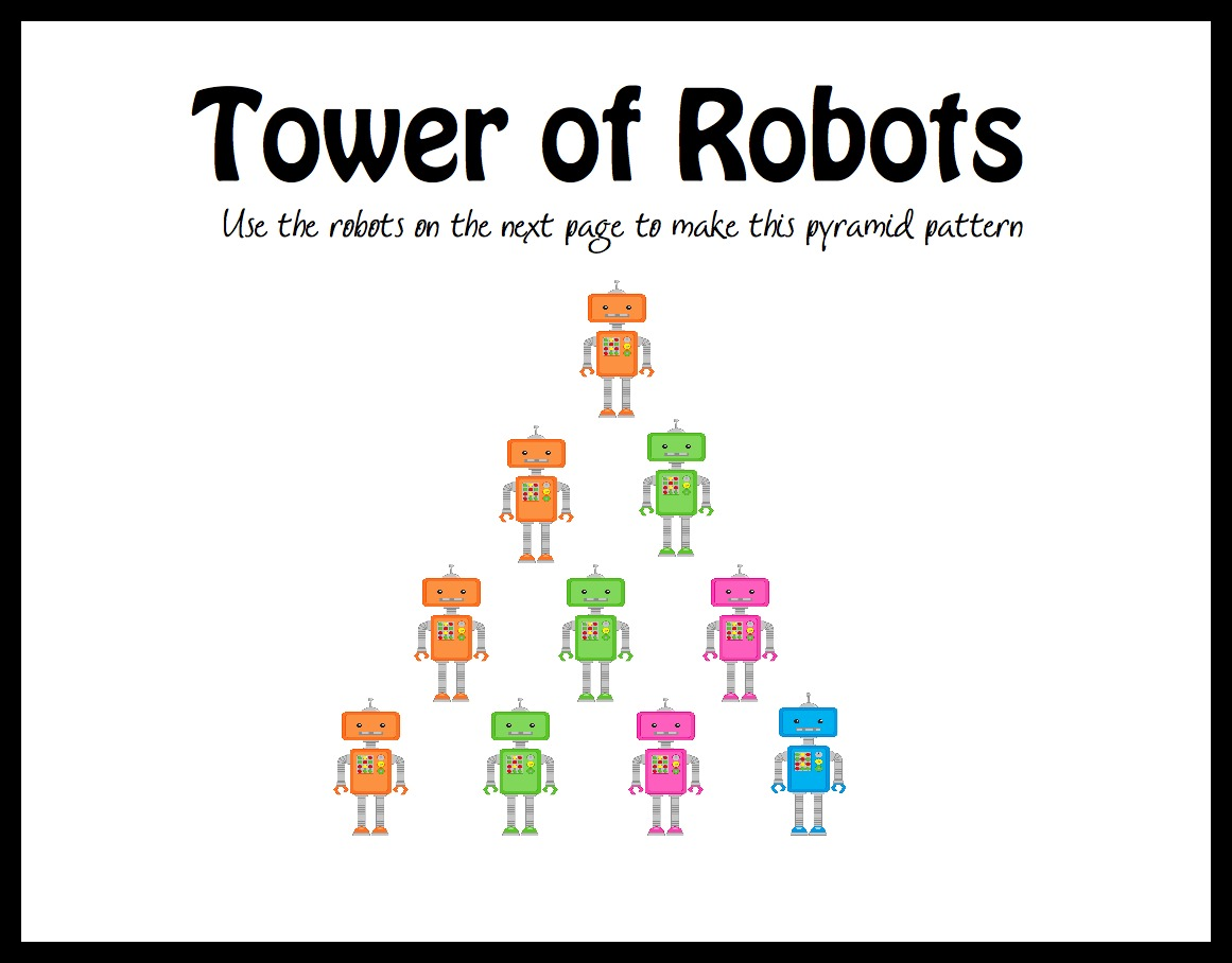 R Is For Robots Letter R Printables